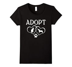 >> Click to Buy << Rescue Dog Kitten T-Shirt, Adopt Pet Shirt, Save Animals Shirt Women T Shirts Clothing  Wholesale Funny Streetwear Cotton #Affiliate