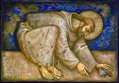 St Francis of Assisi. Invite him to your healing sessions with animals. His presence is comforting and healing. Catholic Art, Catholic Saints, Patron Saints, Feast Of St Francis, Francis Of Assisi, Pope Francis, Religious Icons, Religious Art, Religious Images