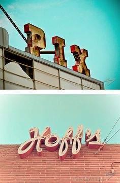 Vintage Sign Photography by Bill Rose