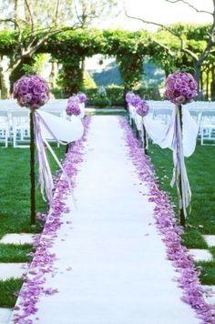 Un mariage violet ça vous plaît ?