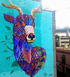 """Mazatl"" by Farid Rueda in Mexico City, MX, 10/16 (LP)"