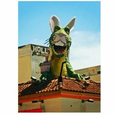 #HappyEaster from #Hollywood!:) Even #Godzilla is gettin' into the #Easter Spirit, haha:) #Rock On!:)  Pic: #JamminJo 2016   #Ripleys #RipleysBelieveItOrNot