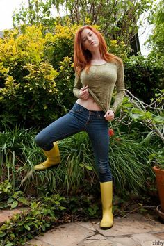Simply magnificent naked girls in rain boots apologise
