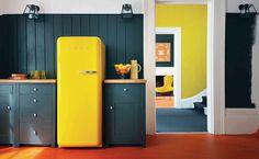 Smeg Kühlschrank Schwarz Matt : Die besten bilder von retro kühlschrank kitchen dining rooms