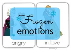 Frozen Emotions (English & French) - Head Full of Ideas Albert Einstein, Frozen, English, Activities, Feelings, School Ideas, Blog, Printables, French