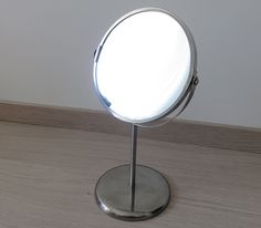 Price: 5 CHF. Small mirror (two sided) from IKEA (see link for details)