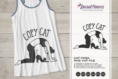 [Sponsored] Copy Cat | Cat Yoga SVG | Fun Yoga Design