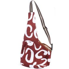 Brown White Pattern Oxford Portableb Pet Single Shoulder Bag >>> Read more at the image link.