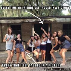 Every Time I Get Tagged In A Picture #lol #funny