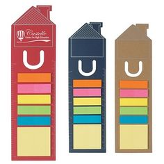 Promotional House Shape Bookmark | Customized Bookmarks | Promotional Bookmarks