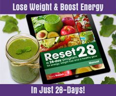 Strawberry beet smoothie RESET 28: A 28-Day Program For Energy, Weight Loss and A Healthy Glow