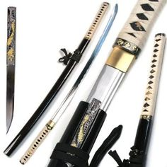 Martial Arts Japanese Handmade Zetsurin Sharp Samurai Ninja Musha Katana Sword - Go Shop Collectibles Samurai Swords Katana, Samurai Art, Martial Arts Supplies, Collectible Knives, Japanese Sword, Weapon Concept Art, Fantasy Weapons, Knives And Swords, Sword Art