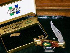 "Camillus #11 Lockback Knife American Wildlife ""The Bear"" W/Packaging,Paperwork @ ditwtexas.webstoreplace.com"
