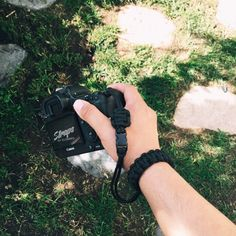 Image of SBER single strap with quick release buckle attachment Paracord Camera Strap, Camera Straps, Camera Gear, Photography, Image, Photos, Craft, Photograph, Pictures