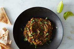 (Almost) Spiceless Eggplant Bharta