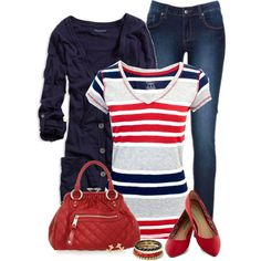 """Navy"" by daiscat on Polyvore"