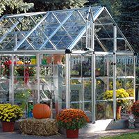 Snap & Grow Greenhouse - 6' x 8' @kathy8 how awesome would this be in your backyard?