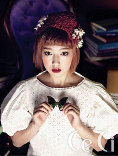 Park Shin Hye - she looks creepy here.. but still .. beautiful ★♡♡♡ 박신혜 / Park Shin-Hye