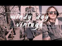 Windy Vintage Day - YouTube Instagram, Day, Youtube, Vintage, Fashion, Moda, Fashion Styles, Vintage Comics, Fashion Illustrations