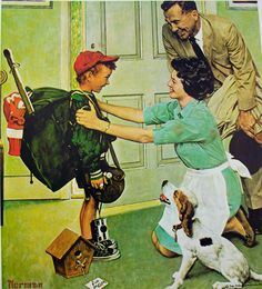 Norman Rockwell Best Paintings Ever | Home From Camp Top Value Enterprises,Inc Stamps Cover, 1968