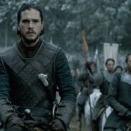 """Jon Snow Has a Very Obvious Rubber Sword  A hawk-eyed Imgur user pointed out that in last week's episode of Game of Thrones, """"Battle of the Bastards,"""" Jon Snow's sword, Longclaw, isn't made out of the Valyrian steel as we had been led to believe, but rather """"Valyrian rubber."""" Fortunately, no one on the battlefield noticed. Scratch that—           ...            More »  http://feedproxy.google.com/~r/nymag/vulture/~3/JYxwijS0sG4/jon-snow-has-a-very-obvious-rubber-sword.html"""