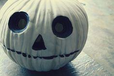 white pumpkin-Nightmare before Christmas-ish