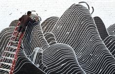 Juxtapoz Magazine - Converse Wall to Wall: Brendan Monroe in Berkeley, CA