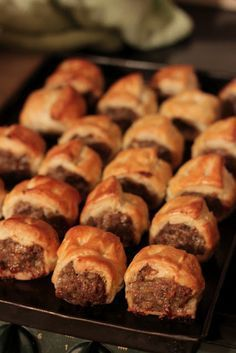 Haggis sausage rolls - there is no way to make these bad boys look sexy Ok, ok I'm sure I know what you are thinking 'euch saus. Scottish Dishes, Scottish Recipes, Irish Recipes, Canadian Recipes, English Recipes, Bakery Recipes, Cooking Recipes, Lamb Recipes, Haggis Recipe