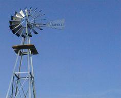 Jewell Windmills - Classic ornamental farm style windmills