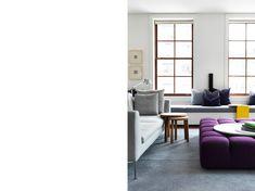 Gary Hamer Interior Design Living Spaces TriBeCa Loft