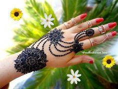 How to apply beautiful latest arabic khaleeji jewellery henna mehndi designs for hands eid,diwali - YouTube