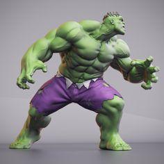ArtStation - Hulk, Matt Leighton