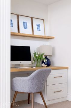 White Home Office Ideas To Make Your Life Easier; home office idea;Home Office Organization Tips; chic home office. Home Decor Bedroom, Decor, Home Office Design, Cheap Office Furniture, Home Office Decor, Interior, Office Design, Home Decor, House Interior