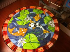 Koi Table Top - Delphi Artist Gallery