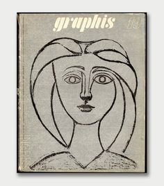 Graphis 19 (1947) cover  by Pablo Picasso