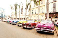 """""""Almendrón"""" is the name Cuban people use for their old american cars."""