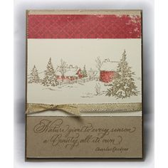 Serendipity Stamps Winter Farm Cling Set
