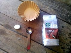 make your own coffee pods for camping!