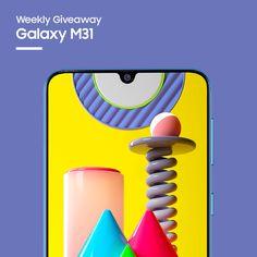 Sorteio de um Samsung Galaxy M31 Smartphone, Iphone, Samsung Galaxy, Prize Draw