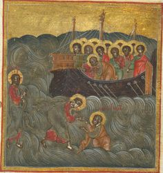 walking on water russian manuscript
