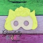Sally Mask Embroidery Design - 5x7 Hoop or Larger
