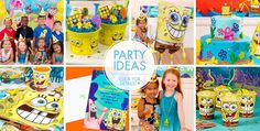 SpongeBob Party Supplies - SpongeBob Birthday Ideas - Party City