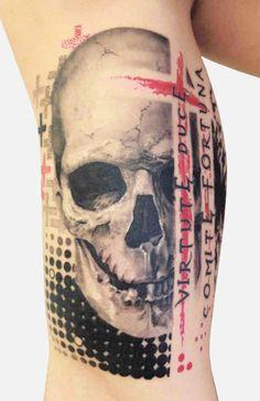 Tattoo Artist - Speranza Tatuaggi - skull tattoo   www.worldtattoogallery.com