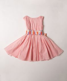 This Koi Geo Degas Dress - Toddler & Girls is perfect! #zulilyfinds
