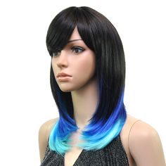 SYNTHETIC WIG RAINBOW POP