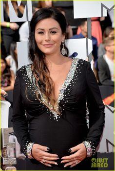 Snooki & JWoww: Pregnant Pals at MTV Movie Awards 2014!   snooki jwoww pregnant pals at mtv movie awards 2014 03 - Photo