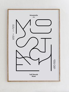 Moustache - Milan Design Week 2014 - Les Graphiquants, curated by Michael Paul Young on Buamai.