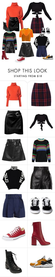"""""""clap"""" by agusvmicheletto7 ❤ liked on Polyvore featuring Creatures of the Wind, Oasis, Sans Souci, Maje, MSGM, Moschino, Sea, New York, Converse, Petar Petrov and Madden Girl"""