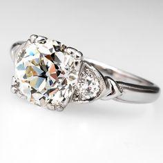 1930's Diamond Engagement Ring