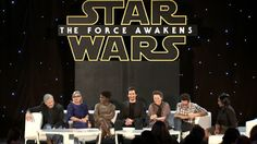 The Star Wars Underworld: Video: 'The Force Awakens' Press Conference